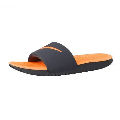 Nike Kinder Badeschlappen Kawa Slide (GS PS) 819352 Anthracite Tart Größe 28,29.5,31,32,36,37.5,38.5,40