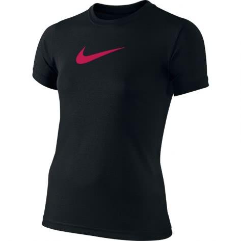 Nike Mädchen Trainingsshirt Legend SS Top Youth 392389 Black Rush Pink Größe 116 128,128 140,152 158,158 170