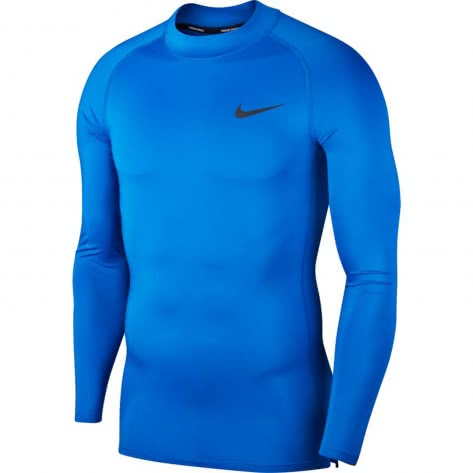 Nike Herren Funktionsshirt Top Compression Mock Long Sleeve BV5592