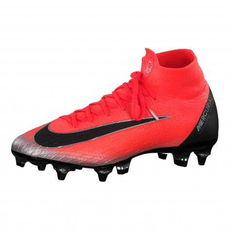 Nike Herren Fussballschuhe Mercurial Superfly VI Elite CR7 SG-Pro AC AJ6932-600 41 Flsh Crmsn/Blk-Ttl Crmsn | 41