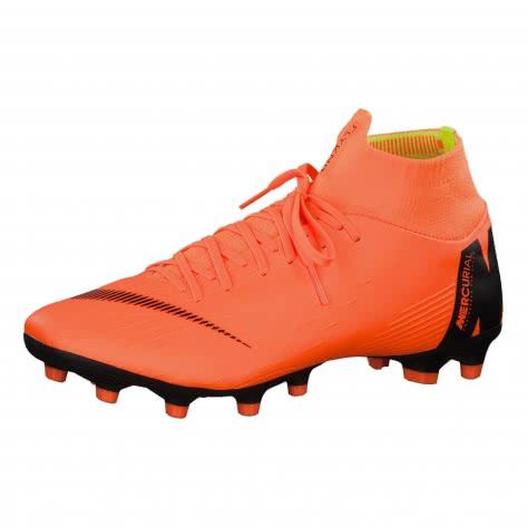 Nike Herren Fussballschuhe Mercurial Superfly VI Pro AG-Pro AH7367-810 40.5 Total Orange/Black-Ttl Orng-Volt | 40.5