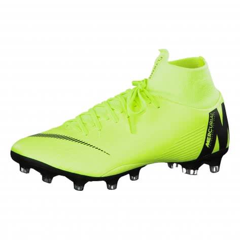 Nike Herren Fussballschuhe Mercurial Superfly VI Pro AG-Pro AH7367-701 40.5 Volt/Black | 40.5