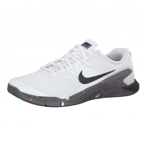Nike Damen Trainingsschuhe Metcon 4 924593-105 41 White/Black-Gunsmoke-Pink Blast | 41