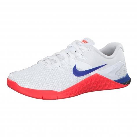 Nike Damen Trainingsschuhe Metcon 4 XD CD3128-106 40 White/Racer Blue-Flash Crimson-Sail | 40