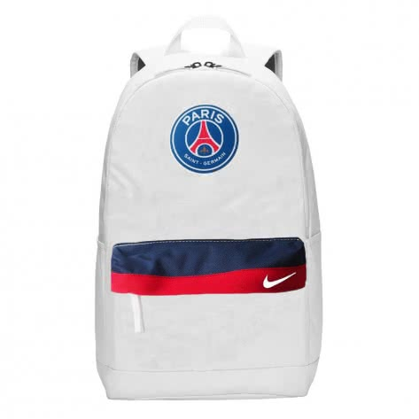 Nike Paris Saint-Germain Rucksack Stadium Backpack BA5941-100 White/Midnight Navy/University Red/White | One size