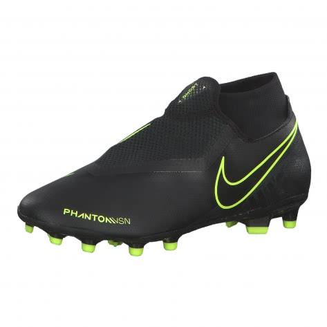 Nike Herren Fussballschuhe Phantom Vision Academy DF FG/MG AO3258-007 39 Black/Black-Volt | 39