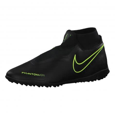 Nike Herren Fussballschuhe Phantom Vision Academy DF TF AO3269-007 47 Black/Black-Volt | 47