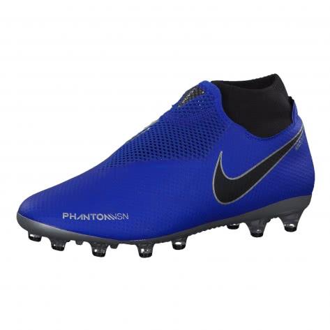 Nike Herren Fussballschuhe Phantom Vision Pro DF AG-Pro AO3089-400 42.5 Racer Blue/Blk- Mtllc Silv-Volt | 42.5