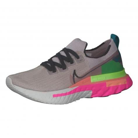 Nike Damen Laufschuhe React Infinity Run Flyknit Premium CU0430-500 38 Violet Ash/Dk Smoke Grey-Pink Blast   38