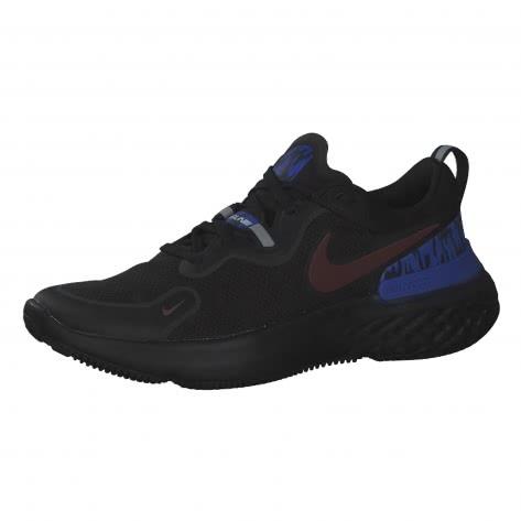 Nike Herren Laufschuhe React Miler DC1931-001 42 Black/Mystic Dates-Midnight Navy | 42