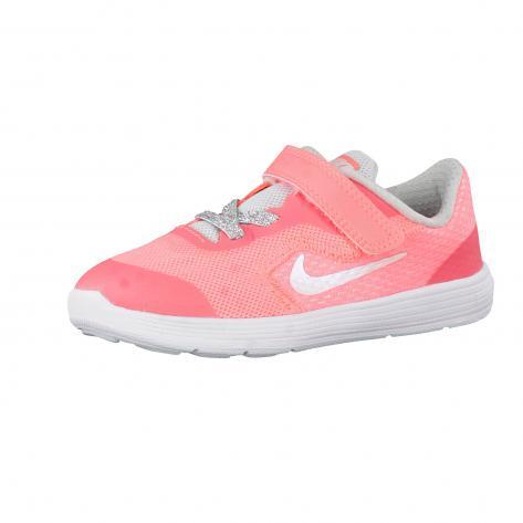 Nike Kinder Laufschuhe Revolution 3 SE (TDV) 859604 Lava Glow White Pure Platinum Größe 23.5