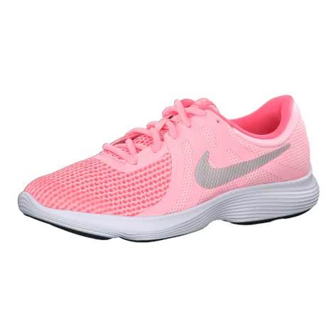 Nike Mädchen Laufschuhe Revolution 4 (GS) 943306 Arctic Punch Metallic Silver Größe 36,38