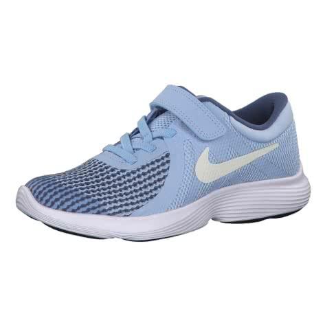 Nike Mädchen Laufschuhe Revolution 4 (PS) 943307 Royal Tint Mtlc Summit Wht Diffused Blue Größe 27.5,28.5,29.5,30,31.5,32,33.5