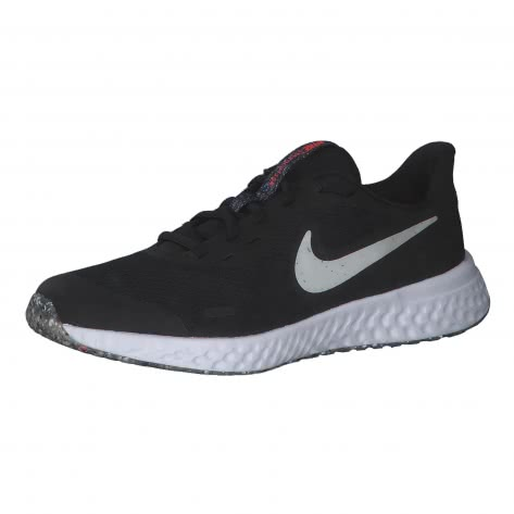 Nike Kinder Laufschuhe Revolution 5 SE CZ6519-005 38.5 Black/White-Bright Crimson | 38.5