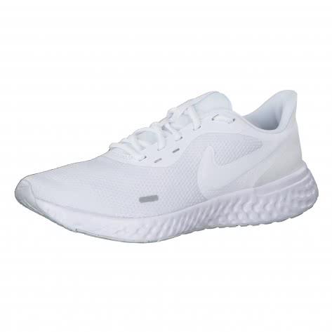 Nike Herren Laufschuhe Revolution 5 BQ3204-103 45.5 White/White | 45.5