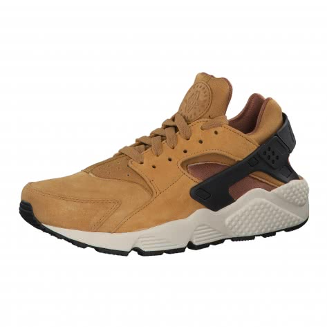 Nike Herren Sneaker Air Huarache Run Premium 704830 Wheat/Black-Light Bone-Aale Brown Größe: 42,42.5,43,44,44.5,45.5,46