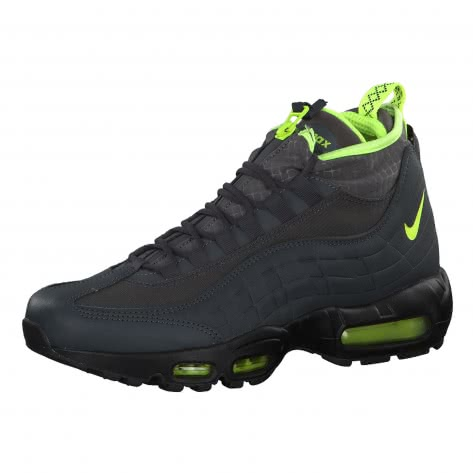 Nike Herren Sneaker Air Max 95 SneakerBoot 806809-003 42 Anthracite/Volt-Dark Grey-Black | 42