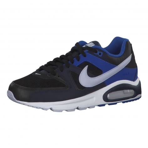 Nike Herren Sneaker Air Max Command 629993-048 42 Black/Ghost-Blackened Blue-Game Royal | 42