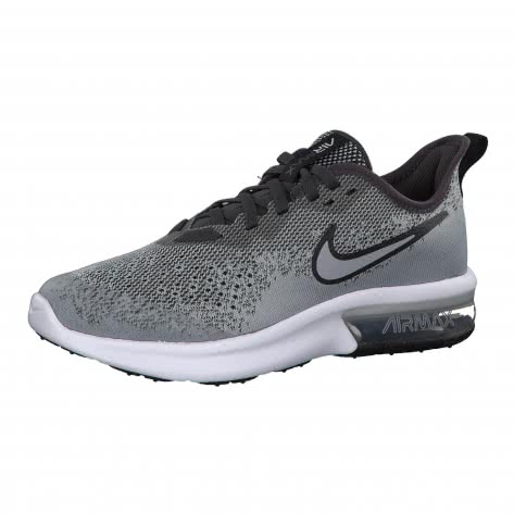 Nike Jungen Sneaker Air Max Sequent 4 (GS) AQ2244 Wolf Grey Wolf Grey Anthracite White Größe 35.5,36,36.5,38,38.5