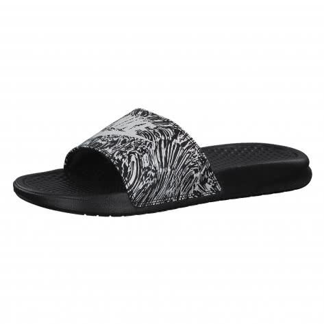 Nike Herren Badeschlappen Benassi JDI Print 631261-006 45 Black/Summit White | 45