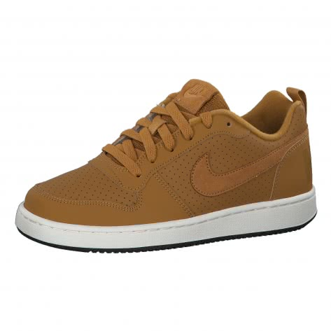 Nike Jungen Sneaker Court Borough Low (GS) 839985 Wheat Wheat Summit White Black Größe 36.5,37.5,38,38.5,39,40