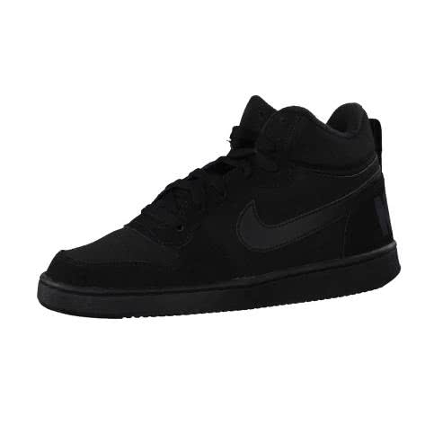 Nike Kinder Sneaker Court Borough Mid (GS) 839977 Black Black Black Größe 35.5,37.5,38,38.5,40