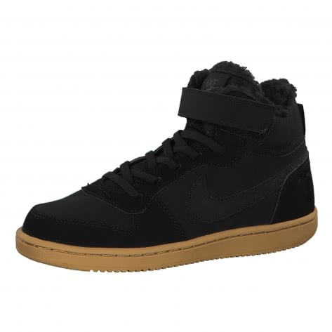 Nike Jungen Sneaker Court Borough Mid Winter (PS) AA5648 Black Black Gum Light Brown Größe 28,28.5,29.5,30,31.5,33,33.5,34
