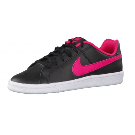 Nike Kinder Sneaker Court Royale (GS) 833654 Black Rush Pink White Größe 36.5,38.5
