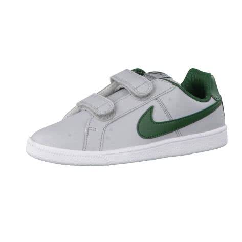Nike Kinder Sneaker Court Royale (PSV) 833536 Wolf Grey Gorge Green White Größe 27.5,28.5,34,35