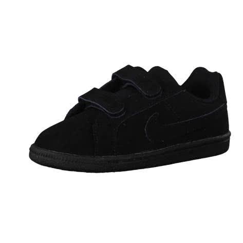 Nike Kinder Sneaker Court Royale (TDV) 833537 Black Black Größe 21,22,23.5,26,27