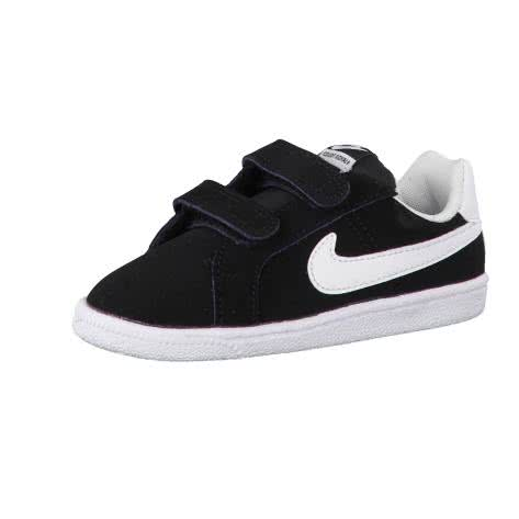 Nike Kinder Sneaker Court Royale (TDV) 833537 Black White Größe 25,26,27