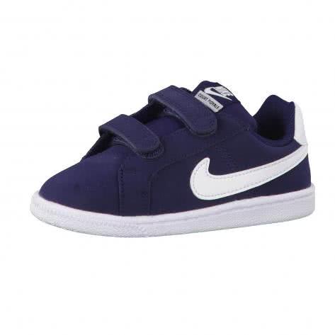 Nike Kinder Sneaker Court Royale (TDV) 833537 Obsidian White Größe 21,23.5,27