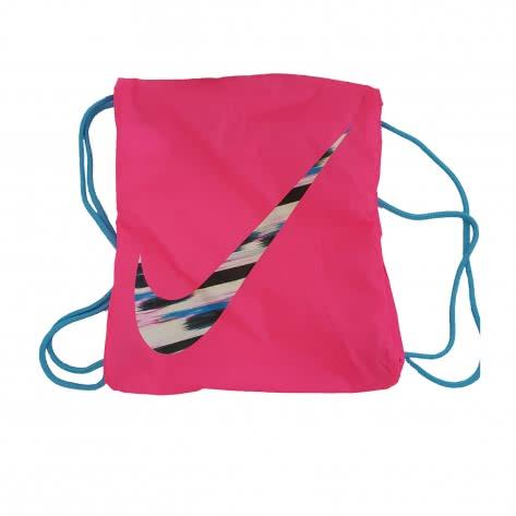 Nike Turnbeutel Draw String Gym Sack BZ9756-659 Pink Pow/Clear Water/Blue Force | One size