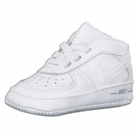 Nike Baby Sneaker Force 1 (CB) 844103 White White White Größe 16,18.5