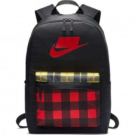 Nike Rucksack Heritage 2.0 Backpack AOP BA5880-010 Black/University Red/University Red | One size