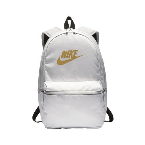 Nike Rucksack Heritage Backpack - Metallic BA6005-092 Vast Grey/Vast Grey/Gold | One size
