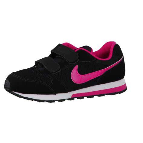 Nike Kinder Sneaker MD Runner 2 (PSV) 807320-006 33.5 Black/Vivid Pink-White   33.5