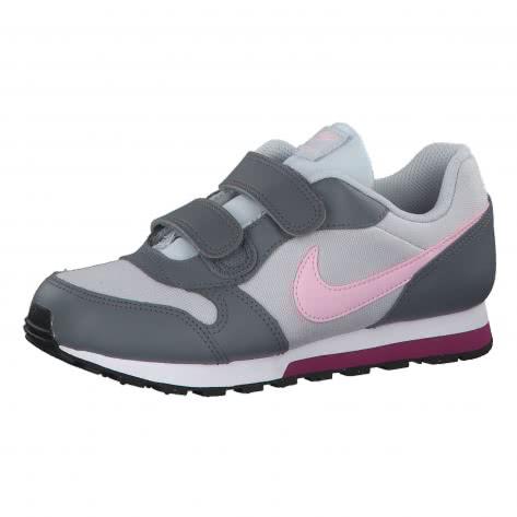 Nike Kinder Sneaker MD Runner 2 (PSV) 807320-017 33.5 Pure Platinum/Pink Foam-Cool Grey | 33.5