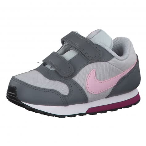 Nike Kinder Sneaker MD Runner 2 (TDV) 807328-017 21 Pure Platinum/Pink Foam-Cool Grey | 21
