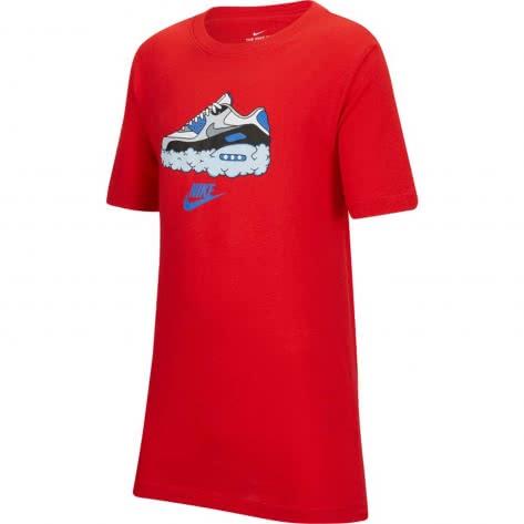 Nike Jungen T-Shirt NSW Tee AM90 Clouds CT2629