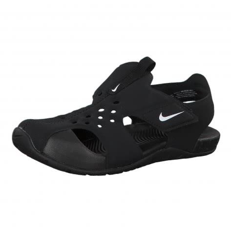 Nike Jungen Sandale Sunray Protect 2 (PS) 943826 Black White Größe 29.5,33.5,35