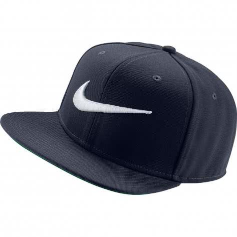Nike Kappe Swoosh Pro Hat 639534-451 Obsidian/Pine Green/Black/White | One size