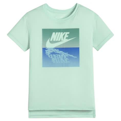 Nike Mädchen T-Shirt Sunset Futura Tee 913188 Igloo Kinetic Green Größe 122 128,128 137,137 146,146 156,156 166