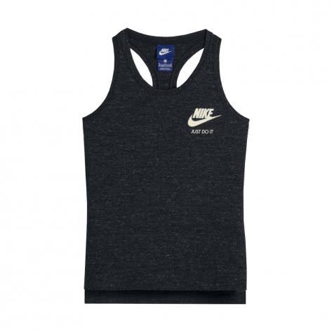Nike Mädchen Tanktop Vintage Tank Youth 890557 Black Sail Größe 122 128,128 137,137 146,146 156,156 166