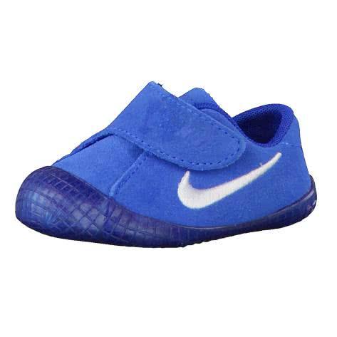 Nike Kinder Sneaker Waffle 1 (CBV) 705372 Photo Blue White Team Royal Größe 17,18.5,19.5