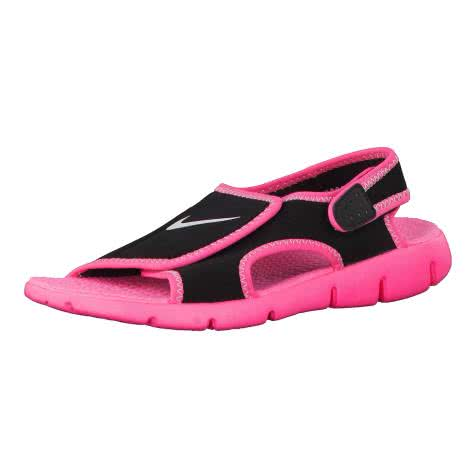 Nike Kindersandale Sunray Adjust 4 386520 Black Pure Platinum Digital Pink Größe 28,31,32,33.5,35,36,37.5,38.5