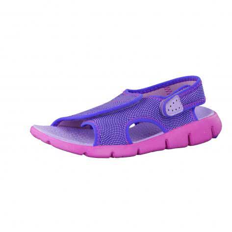 Nike Kindersandale Sunray Adjust 4 386520 Hydrangeas Fire Pink Comet Blue Größe 32,33.5,36,37.5,38.5