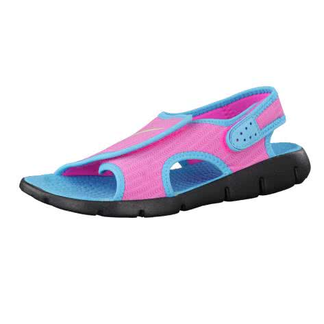 Nike Kindersandale Sunray Adjust 4 386520 Pink Blast Ghst Grn Gmm Bl Blk Größe 37.5