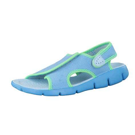 Nike Kindersandale Sunray Adjust 4 386520 Still Blue Chlorine Blue Electro Green Größe 31,32,33.5,35,36,37.5,38.5