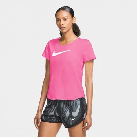 Nike Damen Laufshirt Swoosh Run Shoret Sleeve CU3237